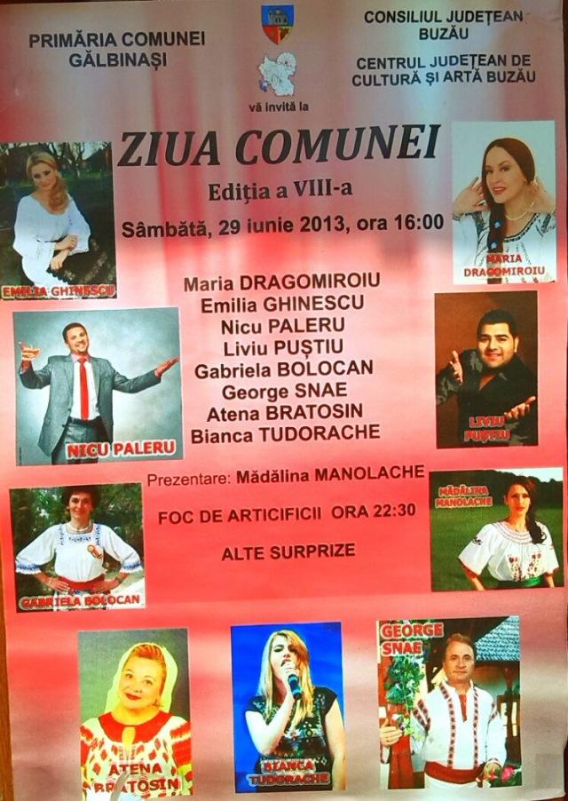 Ziua comunei 2013